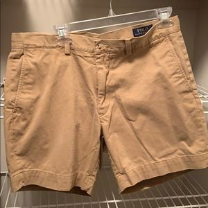 Men's Polo Ralph Lauren Khaki Shorts